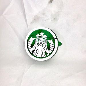NEW Starbucks logo AirPods case